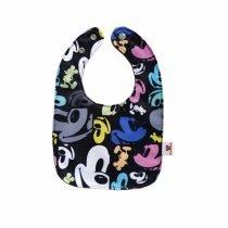 Babero Mickey caras colores(1)