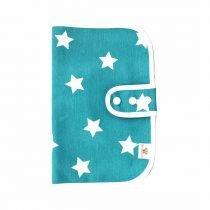 Porta pañales simple estrella verde