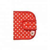 Porta toallas o discos Lunares rojos 1 (1)