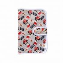Porta pañales simple Minnie gris 1