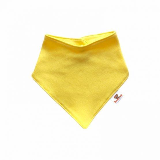 Pañoleta algodón amarillo