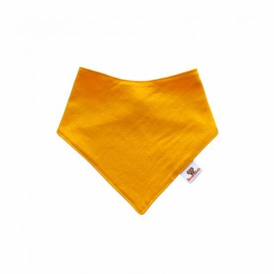 Pañoleta algodón amarillo oro
