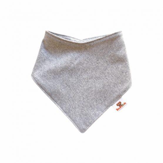 Pañoleta algodón gris