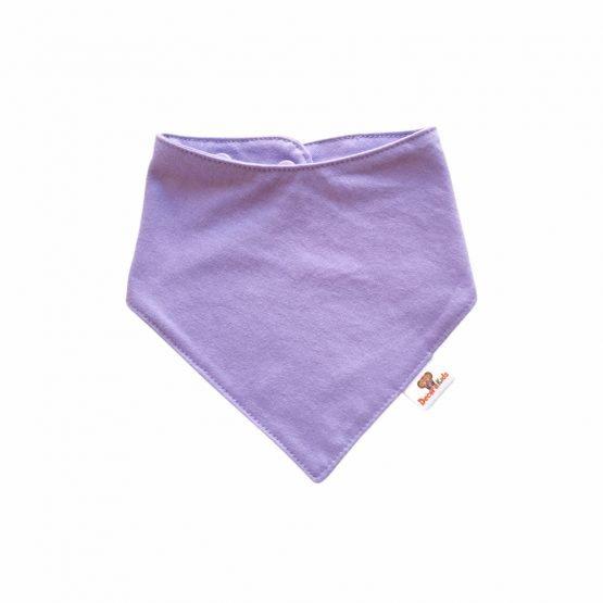 Pañoleta algodón lila