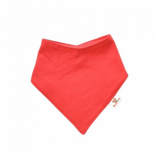 Pañoleta algodón rojo