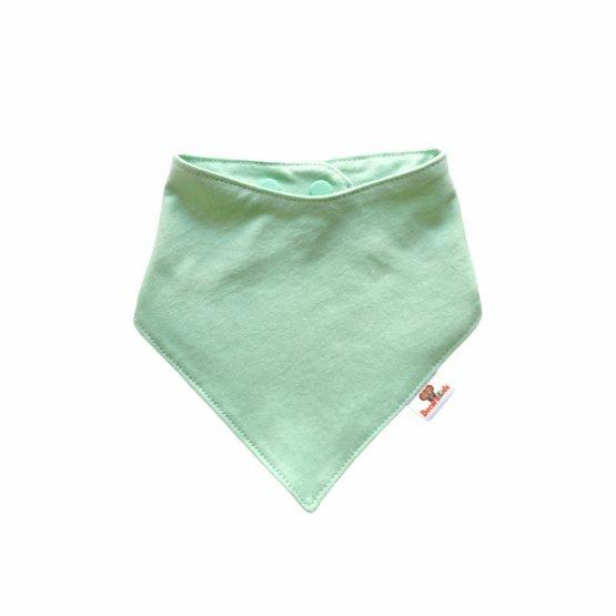 Pañoleta algodón verde agua