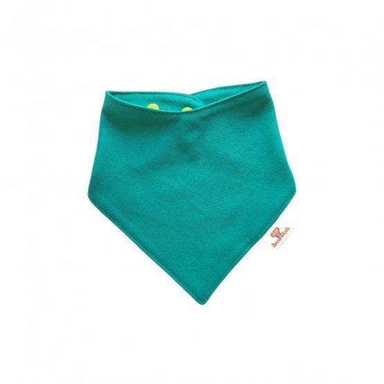 Pañoleta algodón verde jade